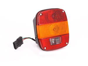 Export Tail Light L/R&#59; 87-95 Jeep Wrangler