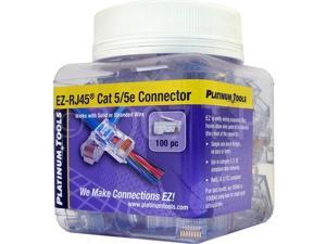 SCP 100 EZ-RJ45 CAT5E Crimp Plugs
