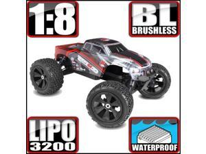 Terremoto V2 Monster Truck 1/8 Scale Brushless Electric (With 2.4GHz Remote Control)