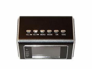 Night Vision Nanny Video Camera Hidden Spy Clock MicroSD DVR Camcorder