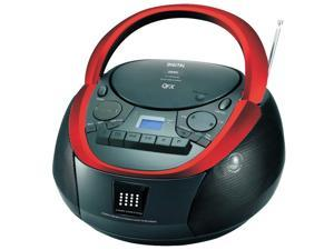 QFX CD/Cassette/MP3 Stereo Player AM/FM Radio