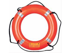 "Mustang 30"" Life Ring with Tape - Orange"
