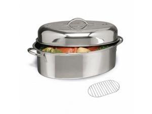 Cuisine Select Top Roast Roaster 16 Oval W/Lid & Roasting Rack