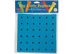 "Big-Little Pegboard 8""""-36 Holes"