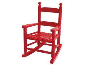 Home Furnishings: Red Child Rocker