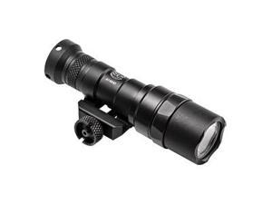Surefire M300, Weaponlight, Picatinny, Black, 300 Lumen LED - Uses One 123A Battery, Z68 On/Off Tailcap M300C-Z68-BK