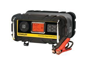 STANLEY BC15BS 15-Amp Battery Charger/Maintainer with 40-Amp Engine Start