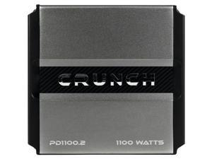 CRUNCH PD 1100.2 POWER DRIVE 2-Channel Bridgeable Class AB Amp (1,100 Watts max)