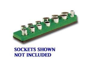 3/8 in. Drive Magnetic Dark Green Socket Holder   5.5-22mm
