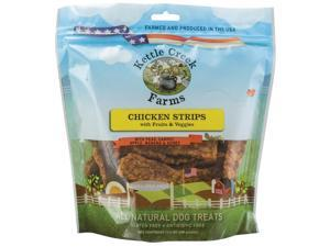 All Natural Kettle Creek Farms Dog Treats 11.5oz-Chicken Strips W/Fruits & Veggies