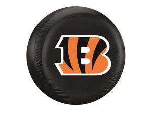Cincinnati Bengals Black Tire Cover - Size Large