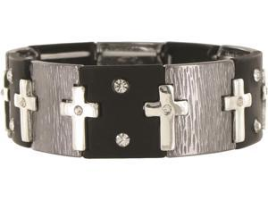 TRANQUILITY CROSS STRETCH BRACLET Case Pack 12
