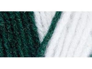 Red Heart Team Spirit Yarn-Green/White