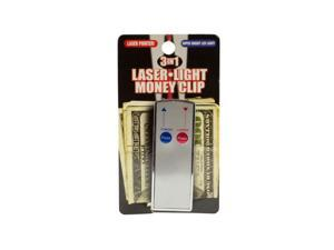 3 In 1 Laser Light Money Clip (Case Pack 24)