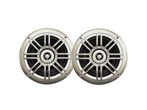 "Milennia SPK652S 6.5"""" , 2-Way Marine Speakers - 150W - Silver"