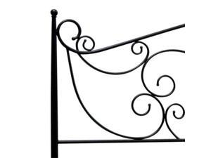 BellO Serta No-Tools-Required Queen Metal Bed Bronze
