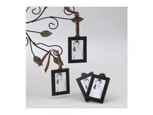 Set of 4 Aluminum Hanging Wallet Size Frames