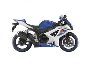 New Ray Die-Cast Suzuki GSX-R1000 Motorcycle Replica 1:12 Scale Blue