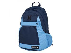 Hurley Honor Roll Solid Blocked Backpack  Midnight Navy/University Blue