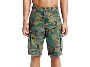 "Hurley One & Only 2.0 Cargo Shorts 32"""" Sequoia Camo"