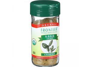 Frontier Naturals Certified Organic Ground Sage Leaf -- 0.8 oz
