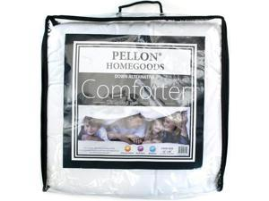"Down Alternative Nano Polyester Twin Size Comforter-62""""X86"""" FOB: MI"