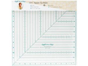 "Quilt In A Day Square N' Fussy Ruler-1.5"""" To 9.5"""""