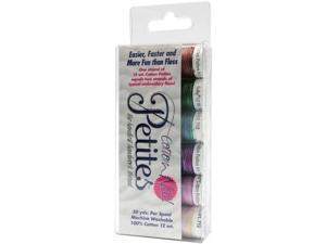 Sulky Sampler 12wt Cotton Petites 6/Pkg-2nd Most Popular Assortment
