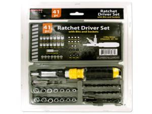 Ratchet Driver set with Carrying Case Case Pack 4