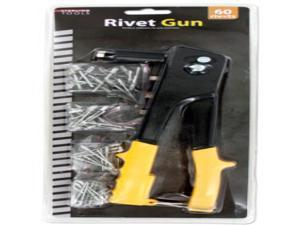 Rivet Gun with assorted Rivets Case Pack 4