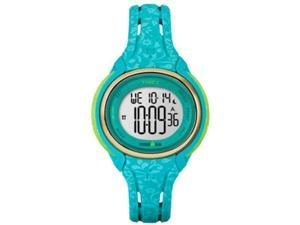 Timex Ironman Sleek 50 Mid-Size Watch - Blue Floral