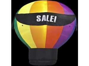 Home Decor: Hot Air Balloon with 4 Banners