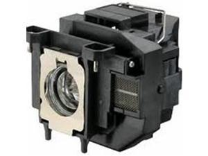 Brand New ELPLP67 Replacement Lamp with Compatible Housing and Factory Original Bulb for Epson Projectors