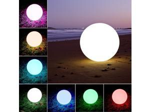 LOFTEK®Outdoor/Indoor Rechargeable LED Light, Cordless with RGB Colorful Changing Remote Control Changing. (Ball 8)
