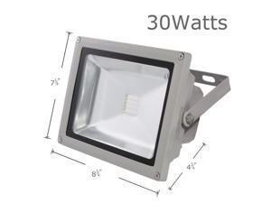 LOFTEK® 30W RGB LED FloodLight with Plug & Remote Control AC85V-265V, with 1 meter power plug, 930WFL (16 different color tones)