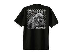 Pit Bull T-Shirt F@*U#! Top Dawg -Black-xl