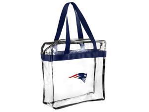NFL New England Patriots Clear See Thru Messenger Bag