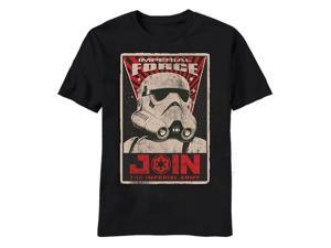 Star Wars Imperial Force Poster T-shirt-xl