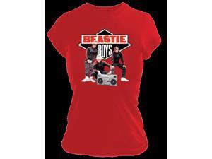 Beastie Boys Solid Gold Juniors Tissue T-Shirt-xl