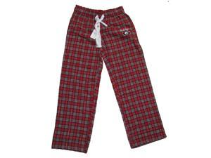 Georgia Bulldogs Ladies Ovation Flannel Pant-small