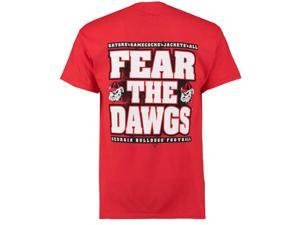 UGA Fear The Dawgs SS T-shirt-Medium