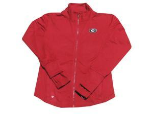 Georgia Bulldogs Women's Colosseum  All Mountain Active Full Zip Jacket-large