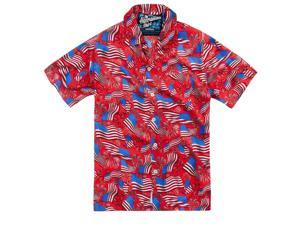 Rowdy Gentleman National Anthem Hawaiian Shirt -medium