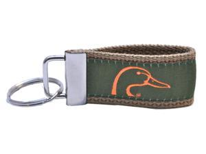Starfish Vision Ducks Unlimited Keychain-green