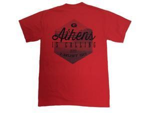 University of Georgia I Must Go Adult SS T-shirt by Weezabi-medium
