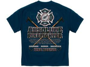 Absolute Firefighter T- Shirt -xl
