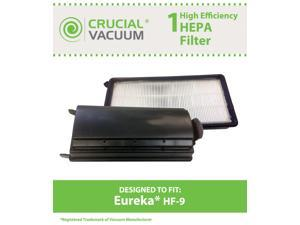 1 Eureka HF-9 HEPA Filter&#59; Fits Eureka Upright Style HF9 Victory & Whirlwind Vacuums&#59; Compare to Part # 0951A, 60951B, 60285, ...