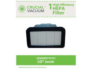 1 LG Zenith HEPA Filter&#59; Fits LG LuV300B&#59; Compare to Part # ADQ72913001&#59; Designed & Engineered by Crucial Vacuum