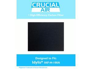 1 Idylis Carbon Filter&#59; Fits Idylis Air Purifiers IAP-10-100, IAP-10-150&#59; Model # IAF-H-100A & 302656&#59; Designed & Engineered by Crucial Air