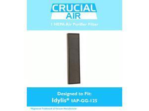 Idylis Air Purifier Filter, Fits IAP-GG-125 Air Purifier